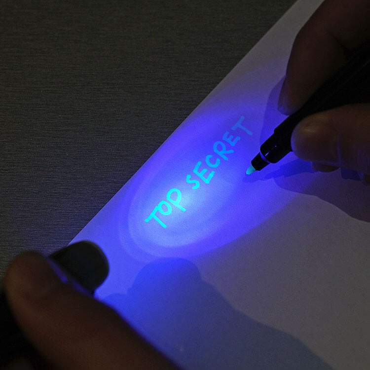 invisible ink pen