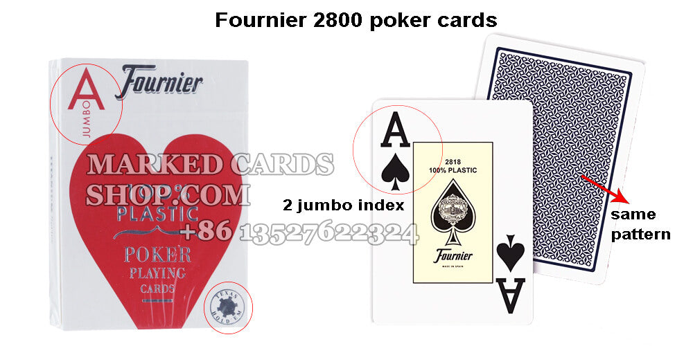 the difference of fournier 2800