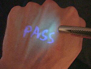 ultraviolet light pen