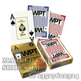 Foutnier WPT playing cards red/blue deck jumbo index
