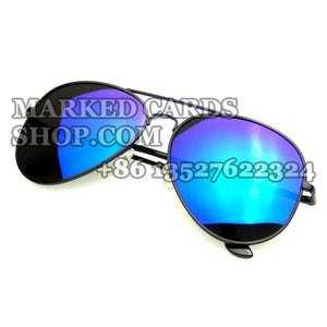 Fashion Aviator sunglasses to see through invisible ink marked cards