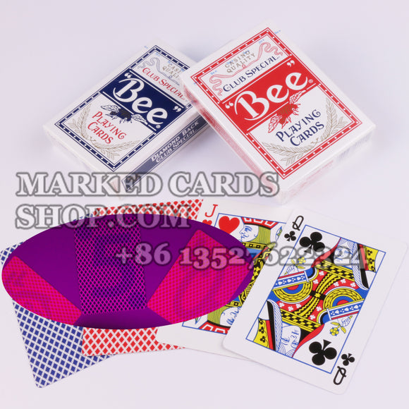 Bee no.92 regular index playing cards marked deck