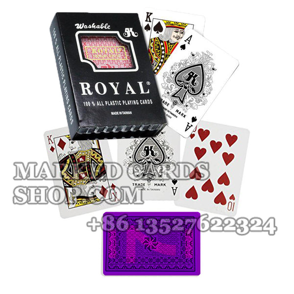 Best Royal Plastic Marked Cards for Cheating in Home Game