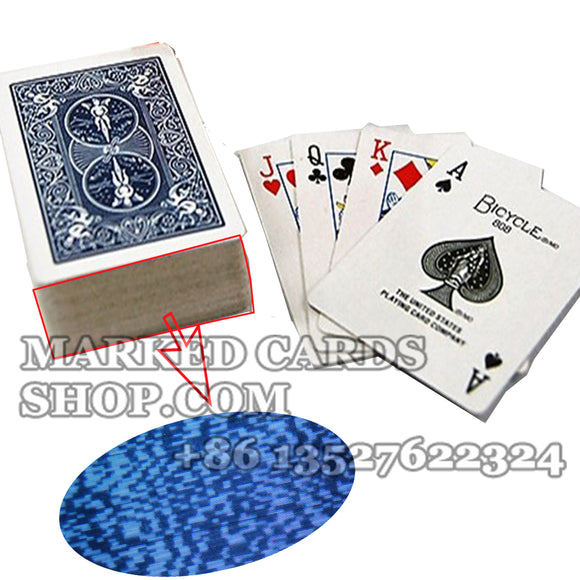 Bicycle barcode marked cards for poker scanner