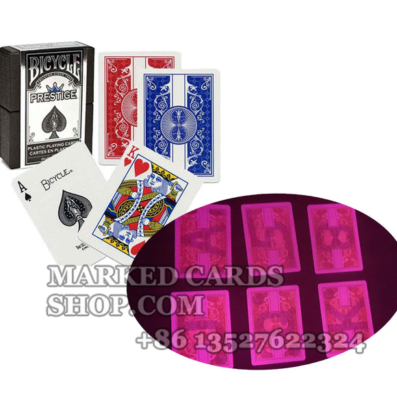 Bicycle prestige marked poker cards