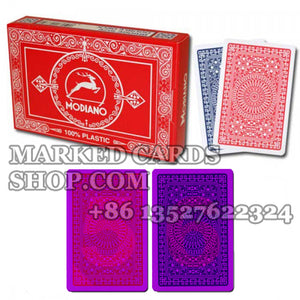 Club Bridge Modiano poker cheating playing cards