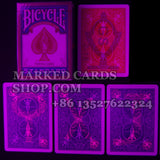 Contact lenses marked cards Bicycle cards