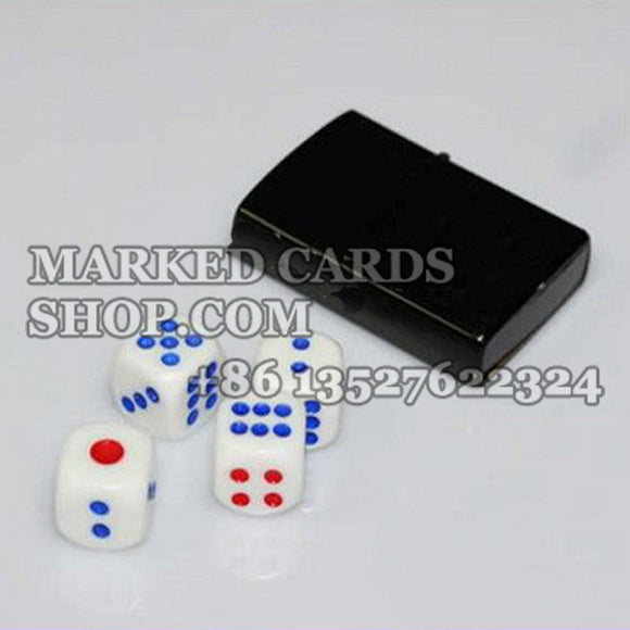 Electronic induction dice to know dice pip in advance