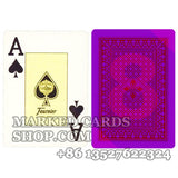 Founier 818 cards marking poker deck paper plastic coated cards