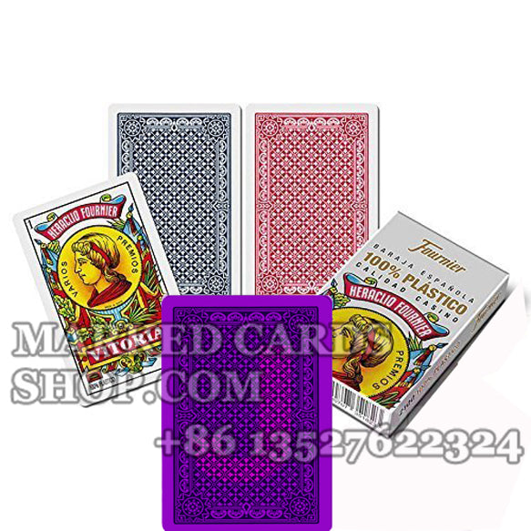 Luminous Ink Fournier 2100 Spanish Style Cards  for IR Poker Sunglasses
