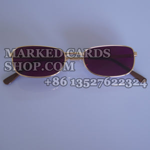 Infrared marked cards sunglasses
