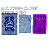 Contact lenses marked cards Modiano Black jack