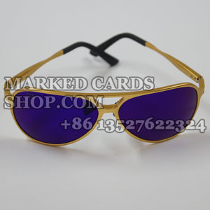 Luminous marked cads sunglasses to see x-ray marks