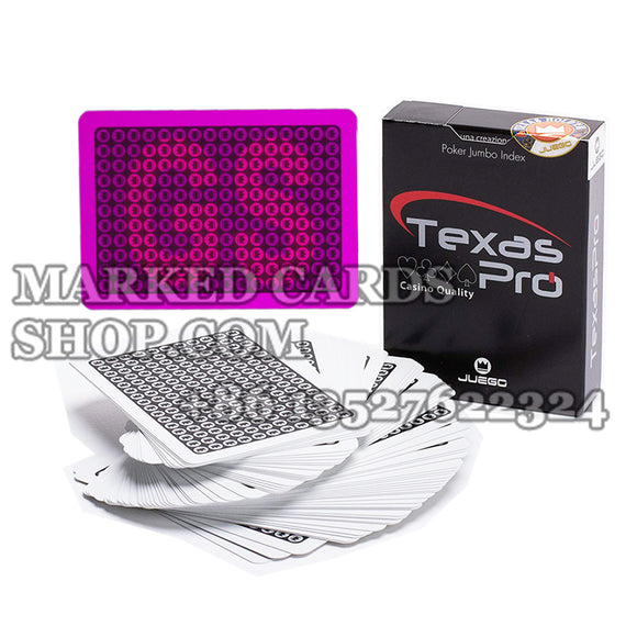 Invisible ink cards JUEGO Texas Hold'Em Pro Playing Cards