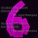 Invisible ink marked playing cards Fournier 2800 cards