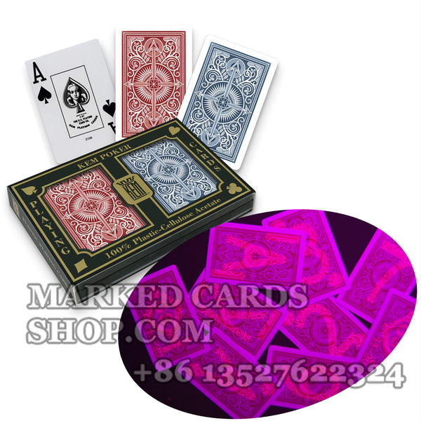 Marked Cards Poker KEM Arrow Playing Cards Bridge Size Regular Index