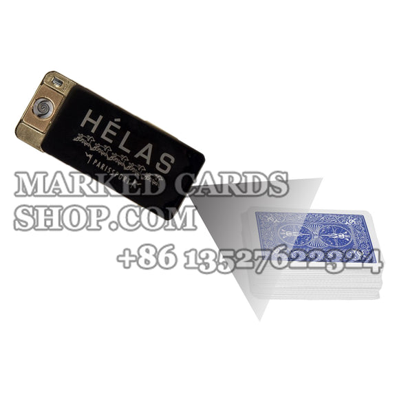 Lighter barcode marked cards Camera