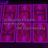Marked deck of Bicycle cards
