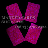 Marked playing cards Fournier NO.12 for poker cheat