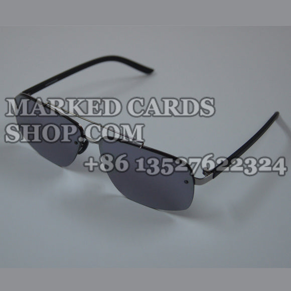 Cards tricks sunglasses to read invisible ink marks