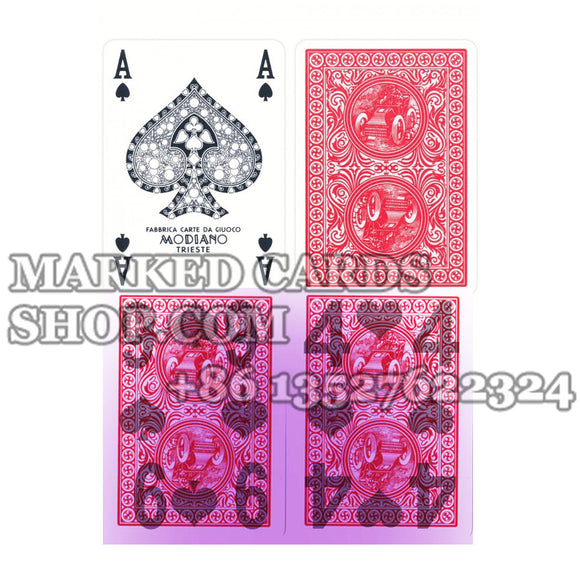 cheating playing cards Modiano Golden Trophy
