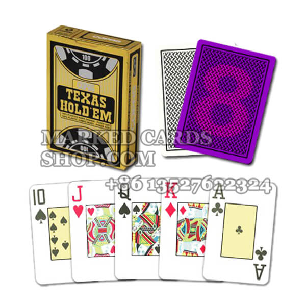 Copag Texas Best Plastic Marked Cards for Casino Cheating