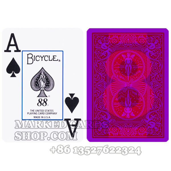 Fournier Prestige Bicycle Marked Poker Cards for Contact Lenses