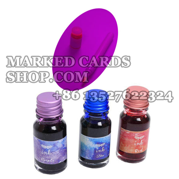 luminous ink kits for marking poker cards