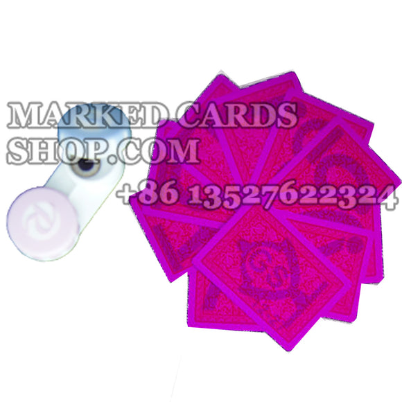marked cards contact lenses for cheating playing cards