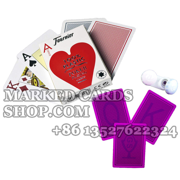 Fournier 2800 Playing Cards with Luminous Ink Cards Markings