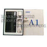 Set of AKK A1 barcode marked cards analyzer