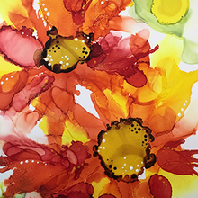 Load image into Gallery viewer, Floral Alcohol Inks
