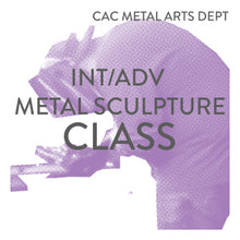 Load image into Gallery viewer, Int/Adv Metal Sculpture