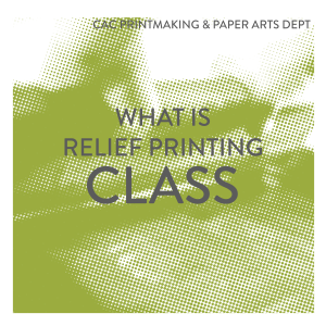 What is Relief Printing