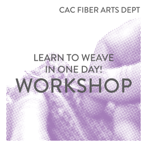Learn to Weave in One Day!
