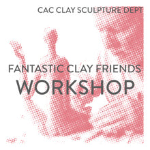 Load image into Gallery viewer, Fantastic Clay Friends Ceramic Sculpture