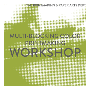 Multi-Blocking Color Printmaking