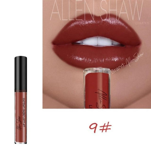 12 Colors Makeup Long Lasting Lipstick Deep Moisturizing Cream Texture Lip Gloss Soft Matte Lip Cream