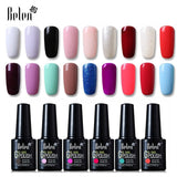 Belen 10ml UV Gel Nail Polish Pure Color Gel Gradient Based Nail Lacquer Primer Gel Polish Top Coat Nail Art Gels for Nails Art