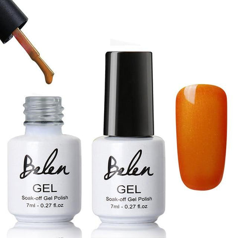 Belen 7ml Lucky Color 79 Colors UV Gel Nail Polish Long-lasting Gel Lacquer UV LED Lamp Base Top Coat Semi Permanent Varnish