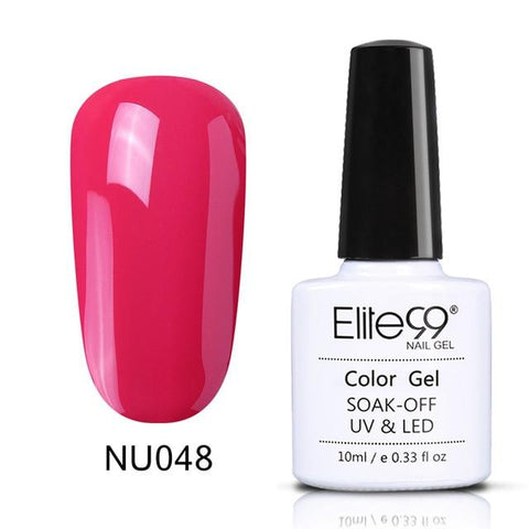 Elite99 10ml Nude Color Gel Nail Polish Soak Off UV Nail Art Design Manicure Vernis Semi Permanent Nail Varnish Lacquer