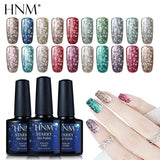 HNM 10ML Starry Bling Nail Polish UV Soak Off Glitter Glue Varnishes Hybird Primer Enamel Lucky Lacquer Nagellak Gelpolish Ink