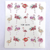 Nail sticker art decoration slider fox wolf animal adhesive design Water decal manicure lacquer accessoires polish foil