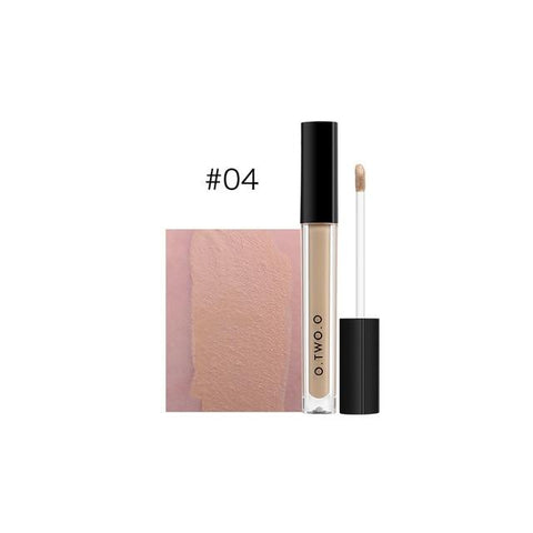 O.TWO.O Makeup Concealer Liquid Concealer Convenient Pro Eye Concealer Cream 4 Colors New Dark Skin Face Contour Concealer