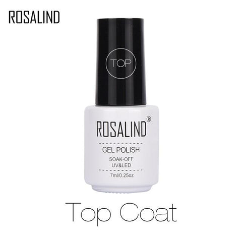 ROSALIND Gel Varnish 2019 Top Pure Color Sale Off gellak White UV Gel Nail Polish Set For Manicure Primer For Hybrid Nails Art