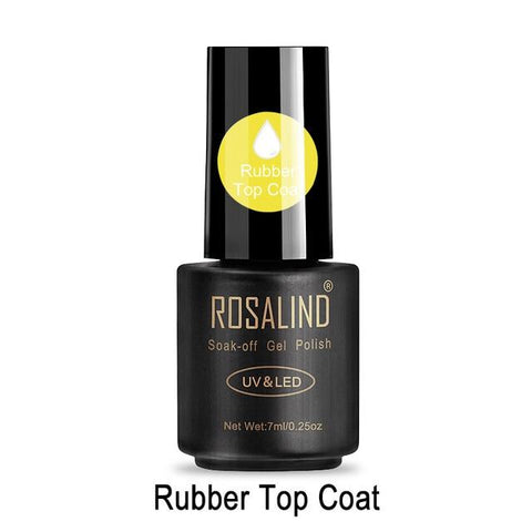 ROSALIND Nail Polish 7ML 58 Color Series Gel Nail Polish Nail Art UV LED Soak-off Gel Lacquer Vernis Semi Permanent Gel Varnish