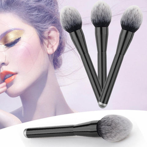 Shopkeeper Recommended!Large Soft Powder Big Blush Flame Brush Foundation Makeup Brush Cosmetic Tool Drop Shipping