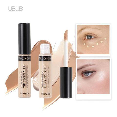 UBUB Face Makeup Concealer Liquid Brush Convenient Rotary Concealer Brush Professional Makeup Brand 3 Colors Optional 6.5g