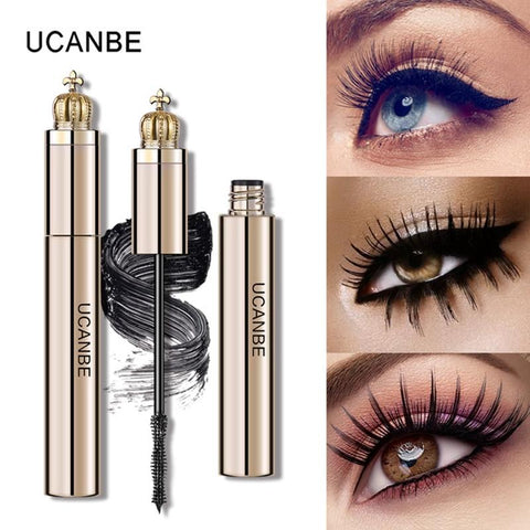 UCANBE Brand Perfect Lash Volume Mascara Makeup 3D Quick Dry Waterproof Thicker Curling Lengthening Extension Eyelashes Cosmetic