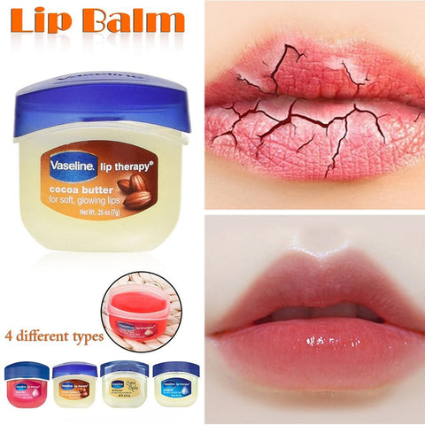 Vaseline Lip Balm Petroleum Jelly Colorless Moisturizing Anti-Cracking Multi-Flavor Optional Suitable Unisex Lip Care Baby Lips
